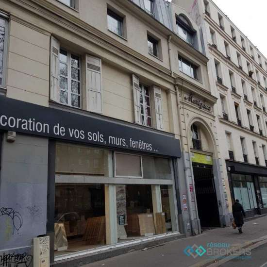 Location immobilier professionnel louer paris paris for Location immobilier atypique paris